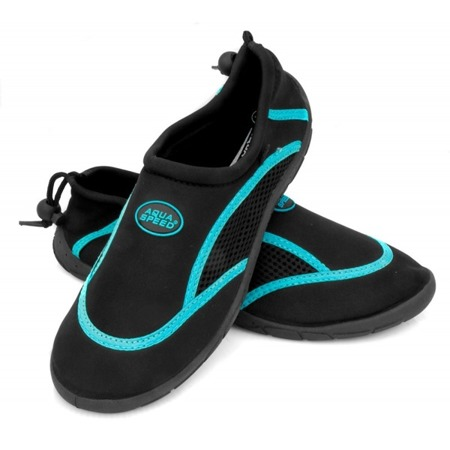 Obuwie Aqua Speed Model 3A Kolor: Czarny/Niebieski, Rozmiar: 36