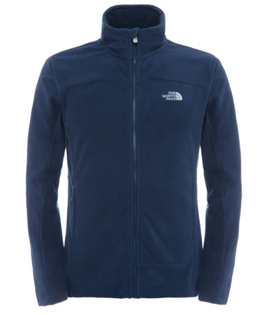 Polar męski The North Face 100 Glacier Full Zip